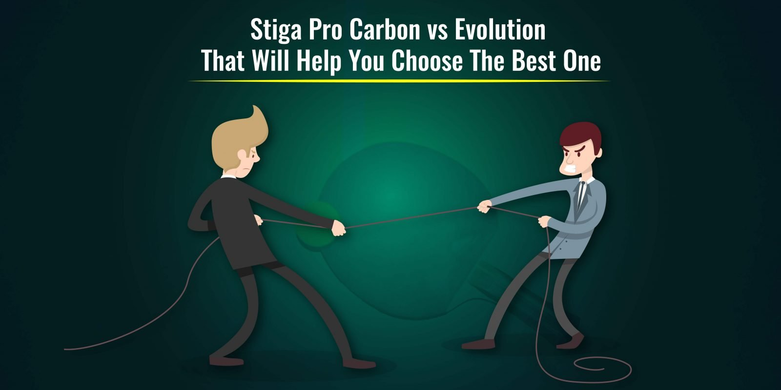 stiga pro carbon vs evolution