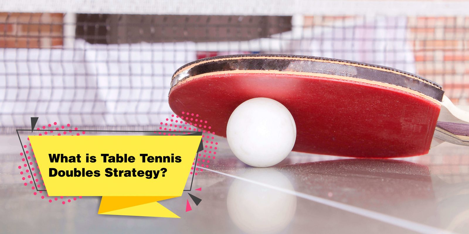 Table Tennis Doubles Strategy